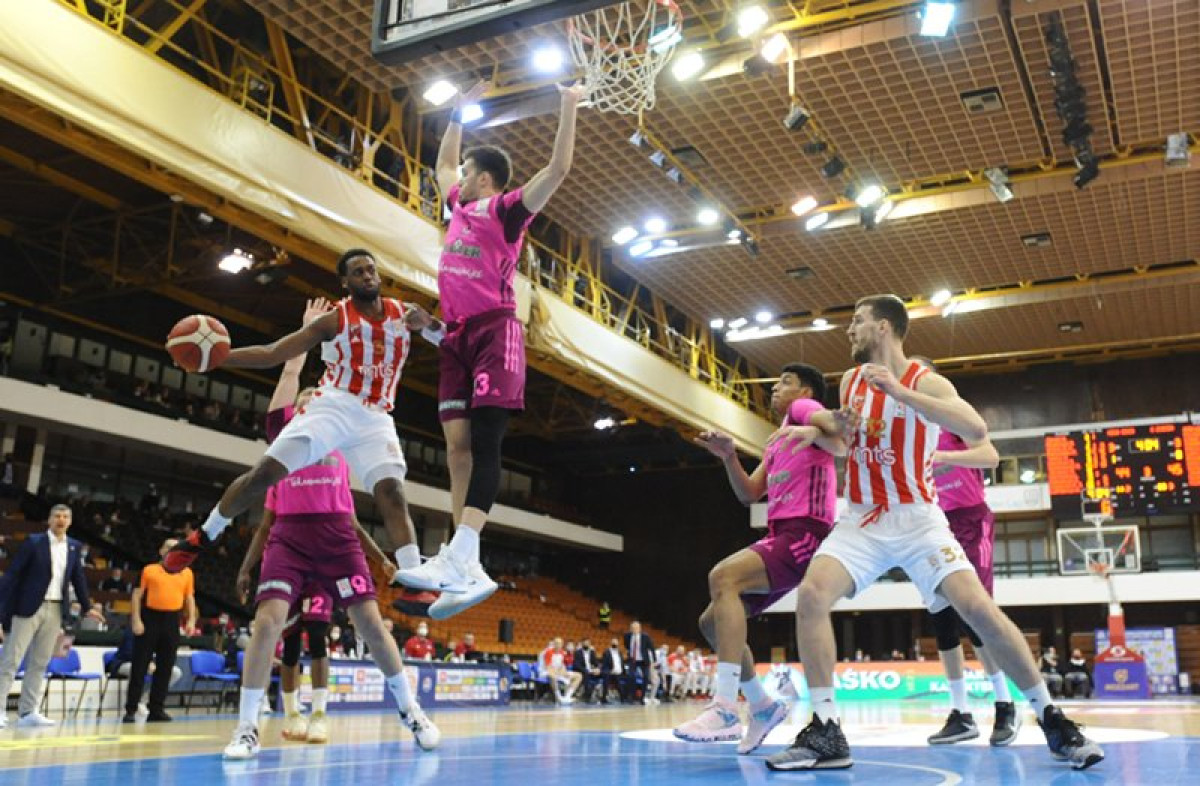 Košarkaši Crvene zvezde pobjednici Kupa 'Radivoj Korać'