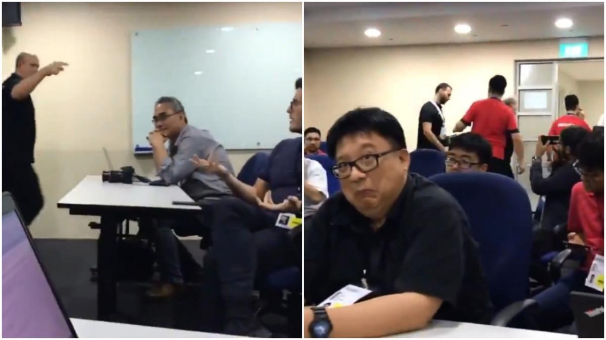 Selektor Palestine potpuno poludio na pitanje novinara, nazvao ga ku*vom i napustio press salu