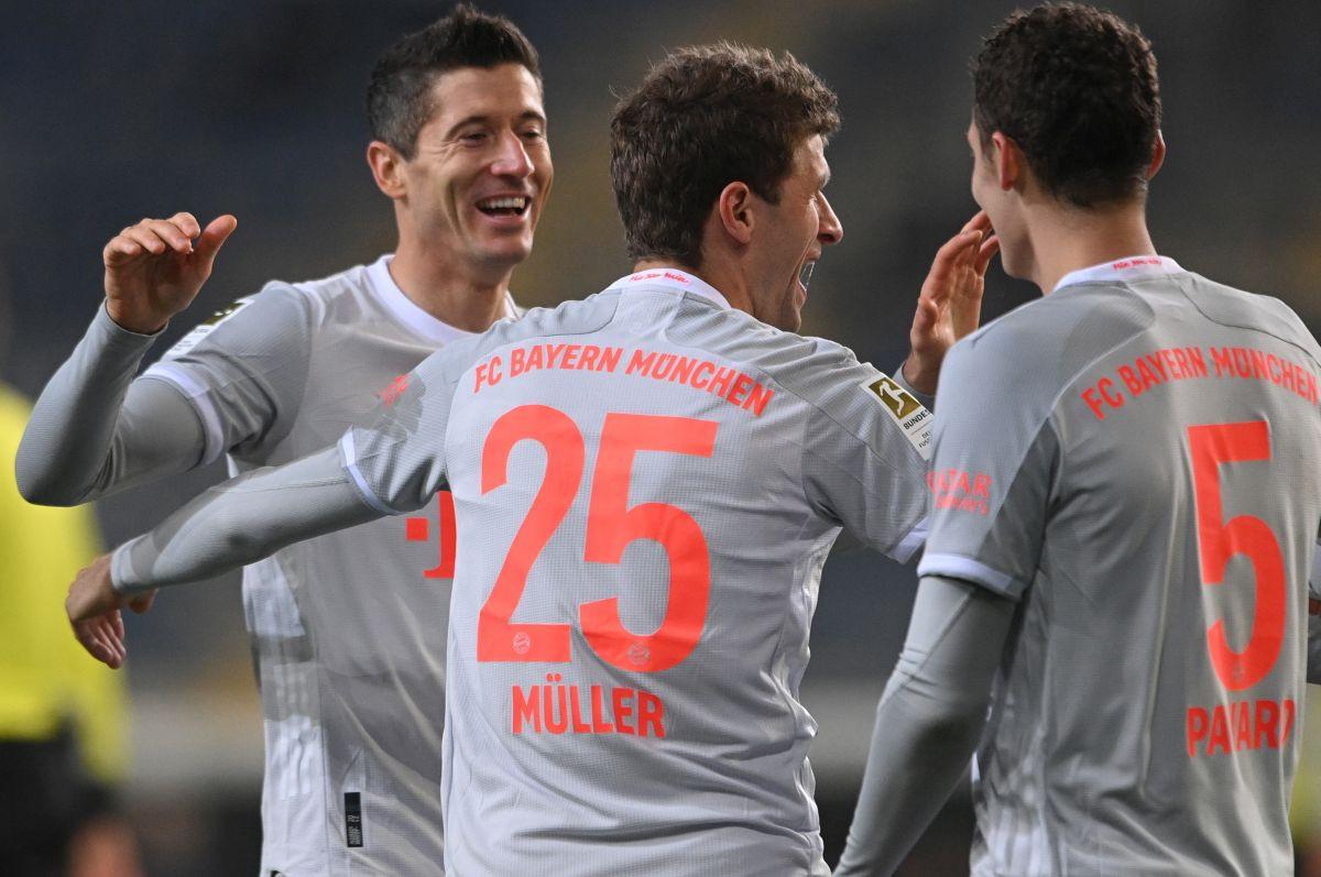 Bayern upisao novu pobjedu, Lewandowski i Muller dvostruki strijelci
