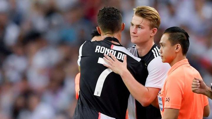 Ronaldo i De Ligt spremni za derbi u Italiji