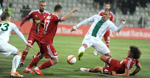 Bursaspor golom u finišu došao do trijumfa nad Sivassporom