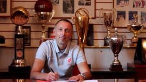 Milan Tomić preuzeo klupu Crvene zvezde