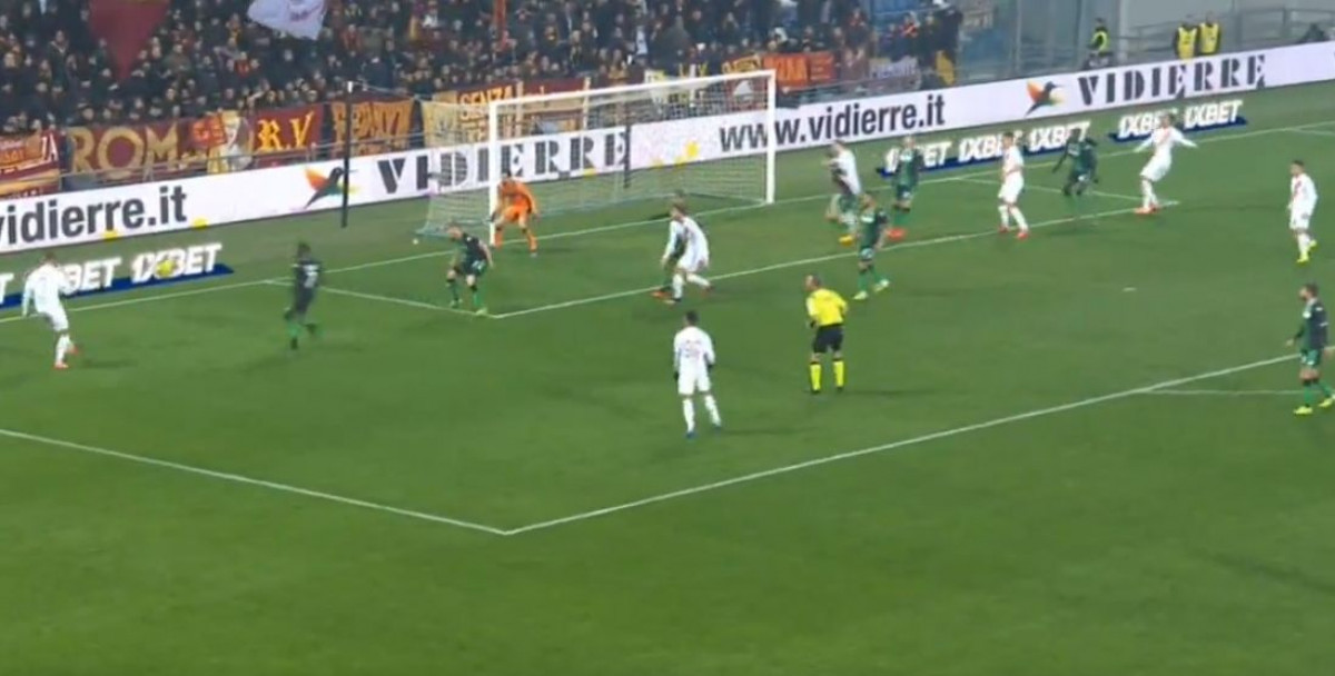 Džeko postigao 100. gol za Romu!