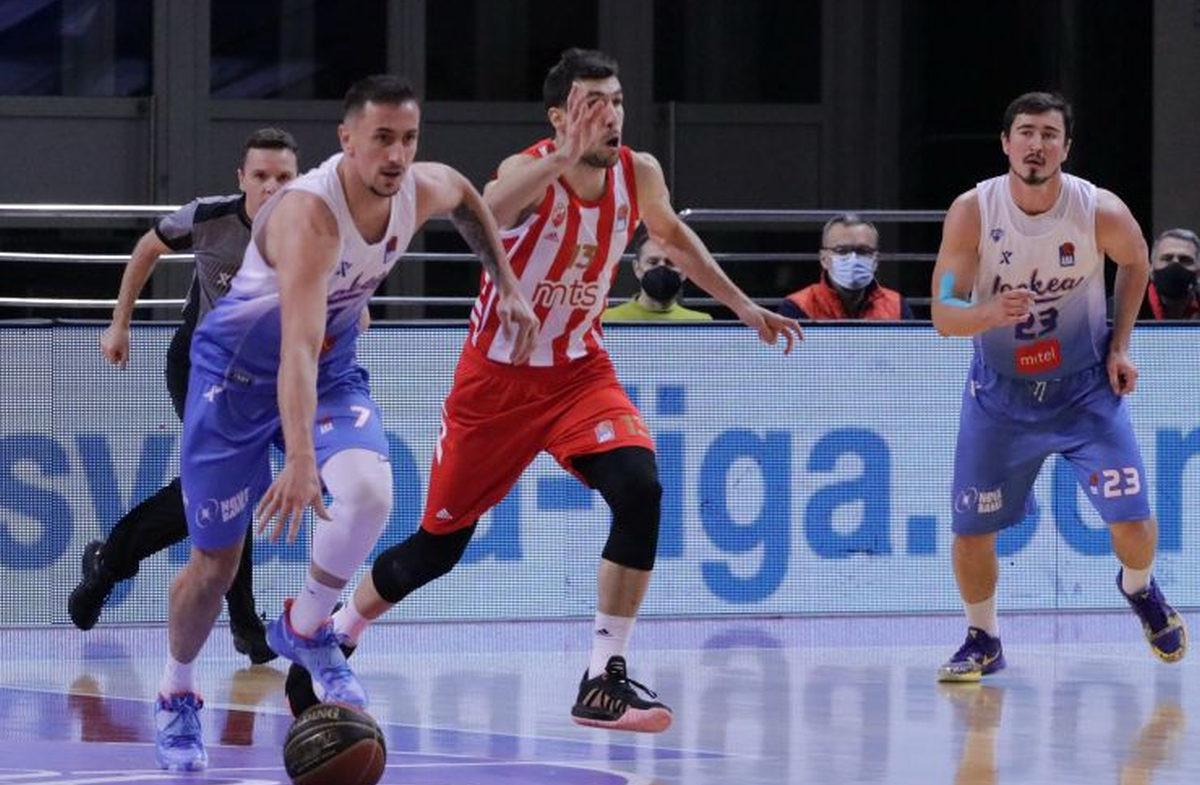 Edin Atić sjajan, Igokea vodi u Beogradu protiv Crvene zvezde na poluvremenu