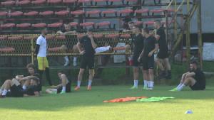 Kako je izgledao današnji trening FK Sloboda?
