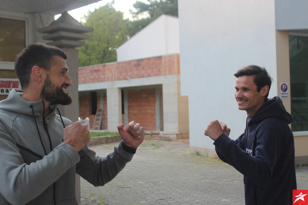 Slobodan Jakovljević i Ivan Crnov: Treniramo, čekamo i nadamo se najboljem za sve nas!