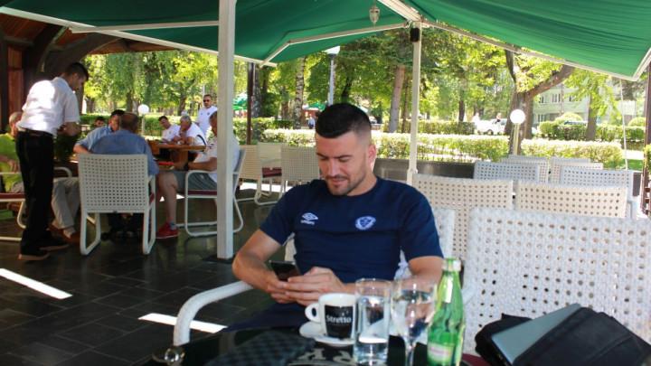Alispahić: Jutrošnji trening mi je vratio stare uspomene