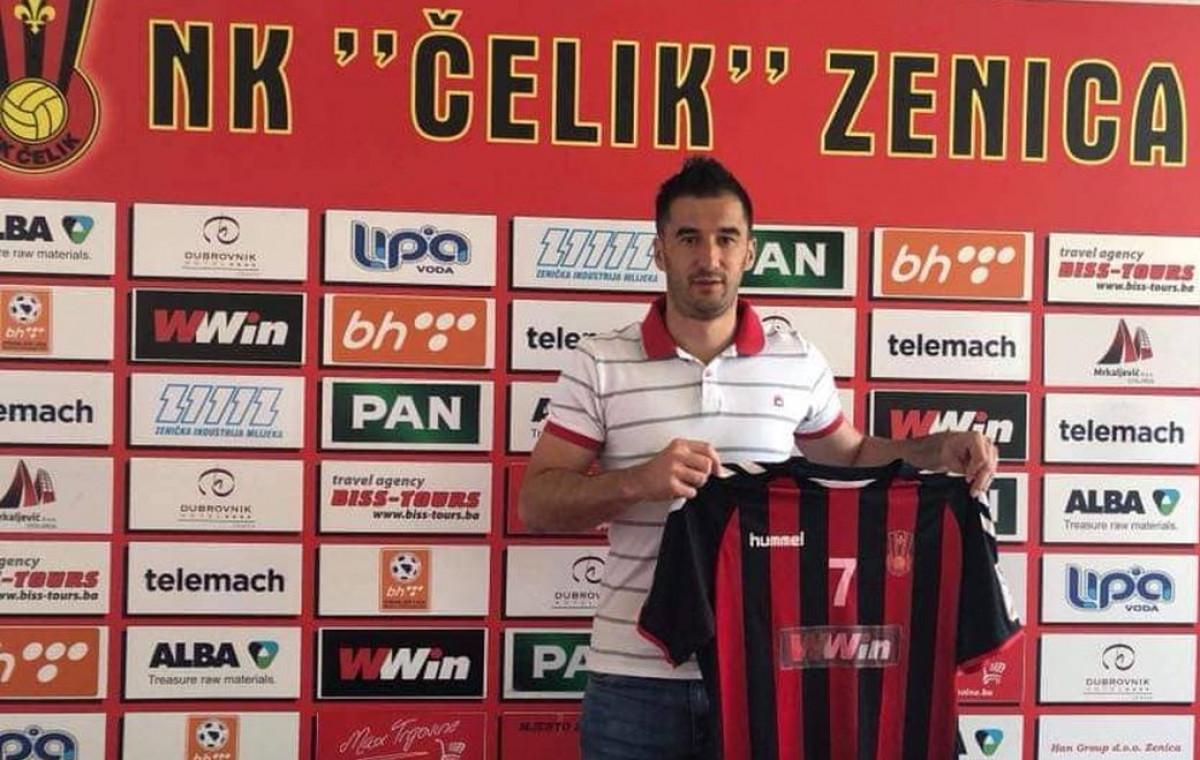 Aidin Mahmutović ponovo u NK Čelik!