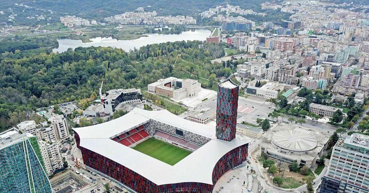 Albanci sutra otvaraju najmoderniji stadion u ovom dijelu Evrope
