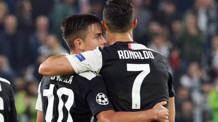 Juventus je bolji kada Ronaldo i Dybala igraju zajedno?