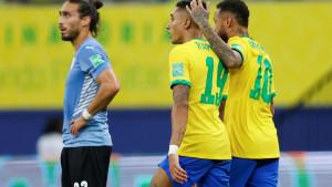Praznik nogometa u Manausu: Brazil bolji od Urugvaja, majstorija Suareza