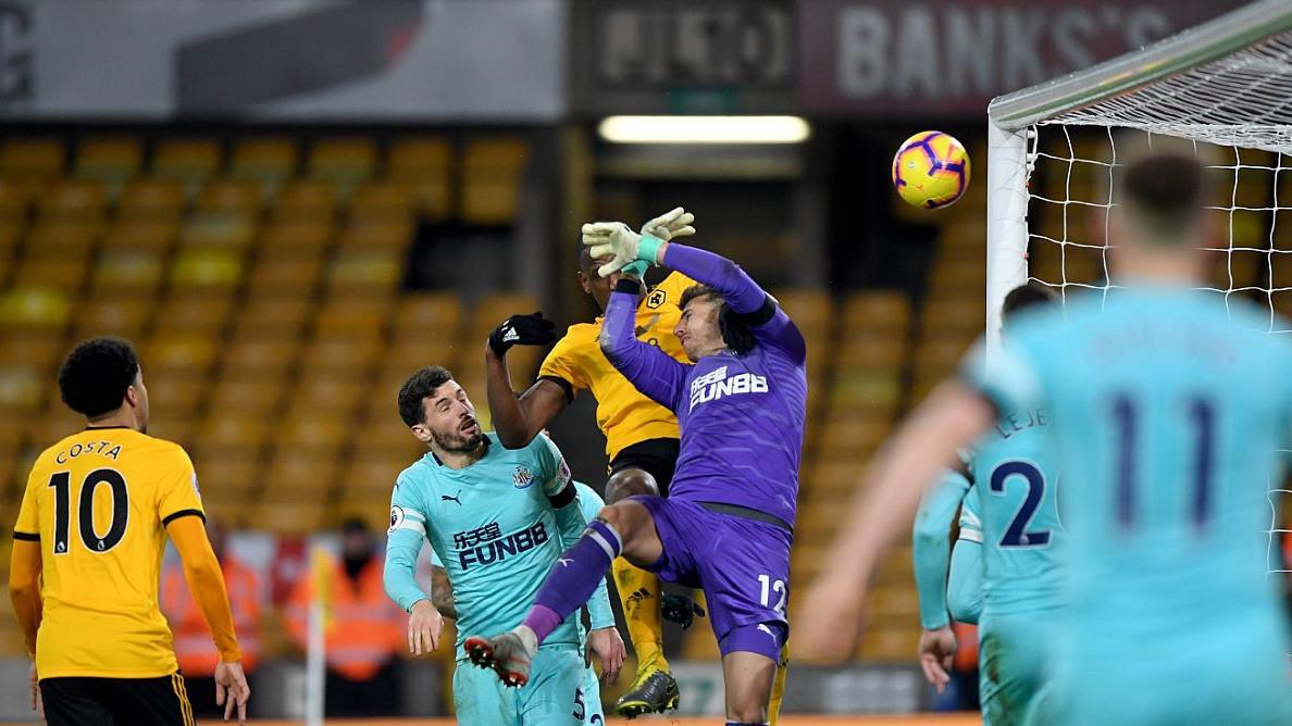 Wolverhampton u 95. minuti došao do boda protiv Newcastle Uniteda