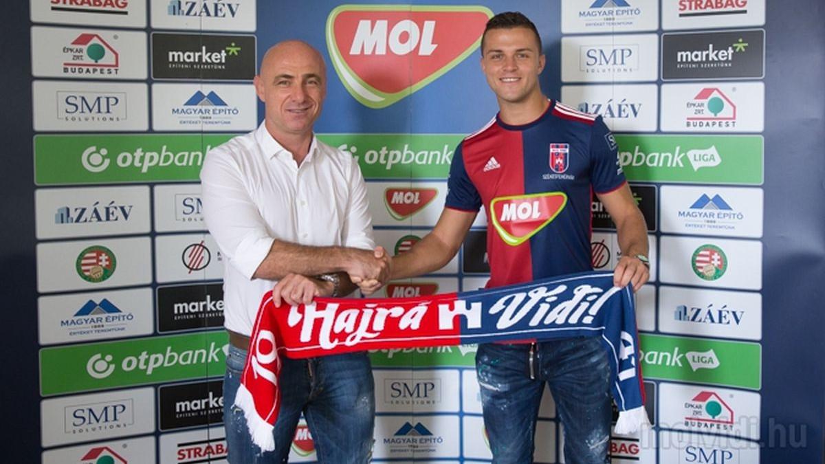"""Hodžić predstavljen u Vidiju: """"Suljić i Hadžić su mi rekli sve najbolje o klubu"""""""