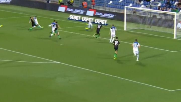 Atalanta pregazila Sassuolo u prvom poluvremenu