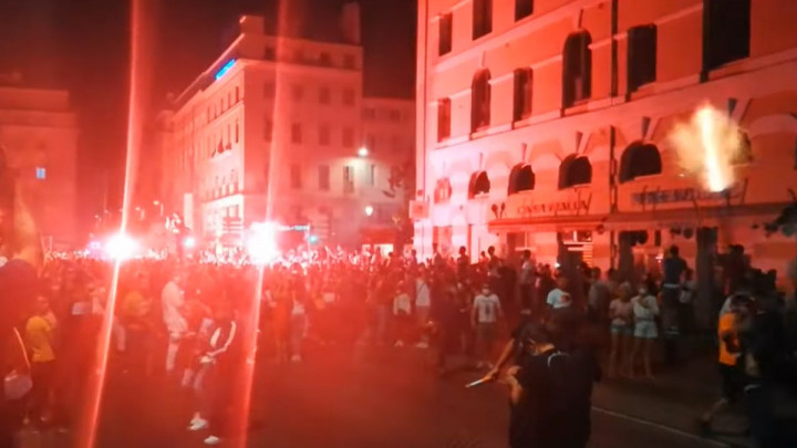U Marseju se slavio poraz PSG-a