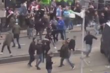 Užas na ulicama Rotterdama nakon poraza Feyenoorda