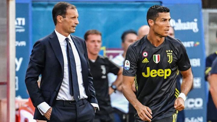 Šta je Cristiano Ronaldo rekao saigračima kada je čuo da Allegri napušta Juventus?