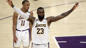 Kingsi prokockali 19 poena prednosti, Lakersi uvjerljivi i bez Jamesa