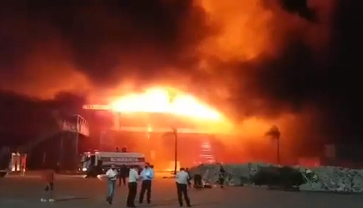 Veliki požar na MotoGP stazi u Argentini