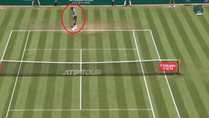 Umjesto iznenađenja - bruka: Pogledajte najapsurdniji servis u historiji tenisa!