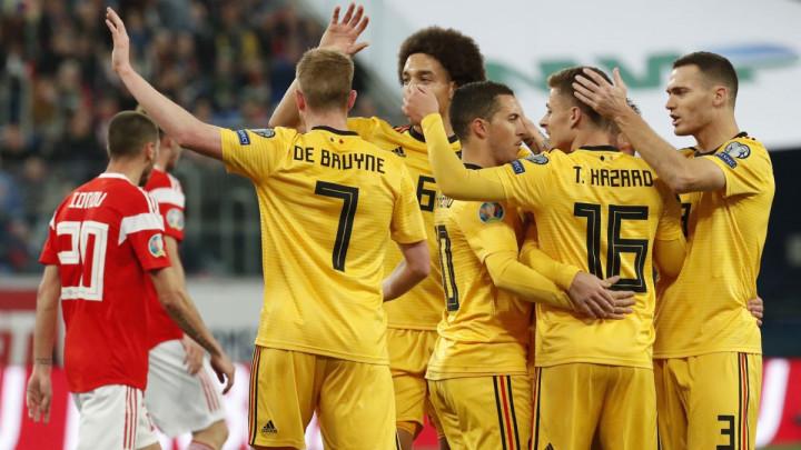 Belgija na krilima braće Hazard i Lukakua očitala lekciju Rusima, Vels ostvario bitnu pobjedu