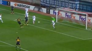 Nesuđeni bh. reprezentativac zabio gol za AEK