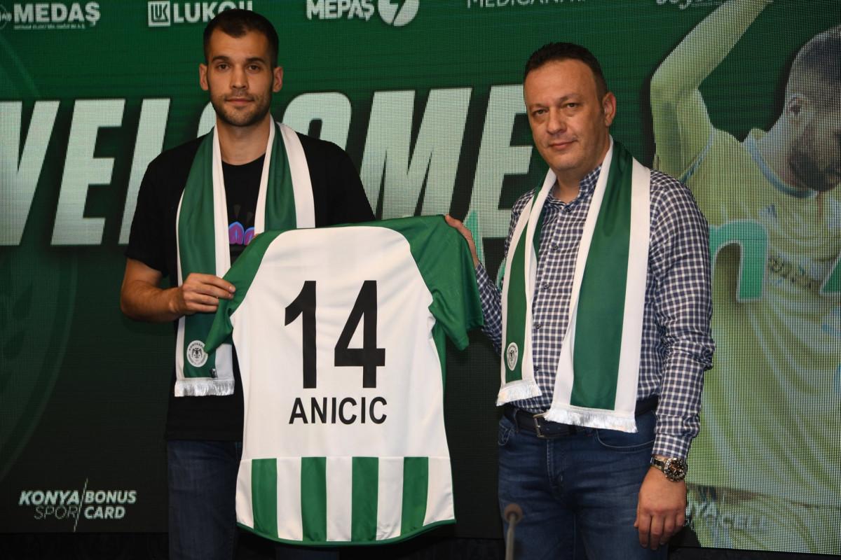 Aničić: Mirne glave sam potpisao za Konyaspor