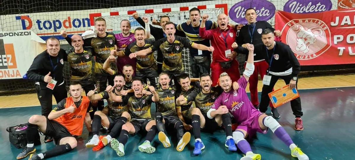 Futsal poslastica na otvaranju sezone: Sarajlije nose tri boda iz Tuzle!