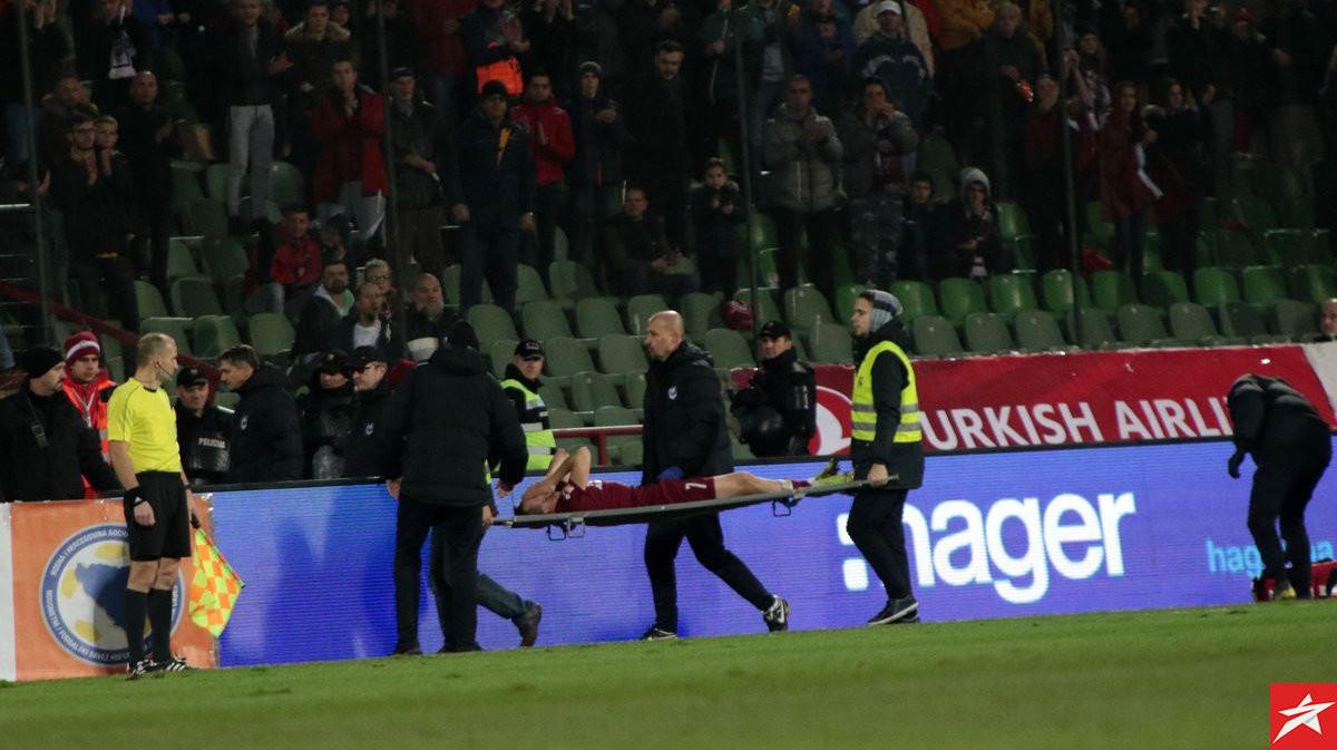 FK Željezničar poslao poruku podrške teško povrijeđenom Anelu Hebiboviću