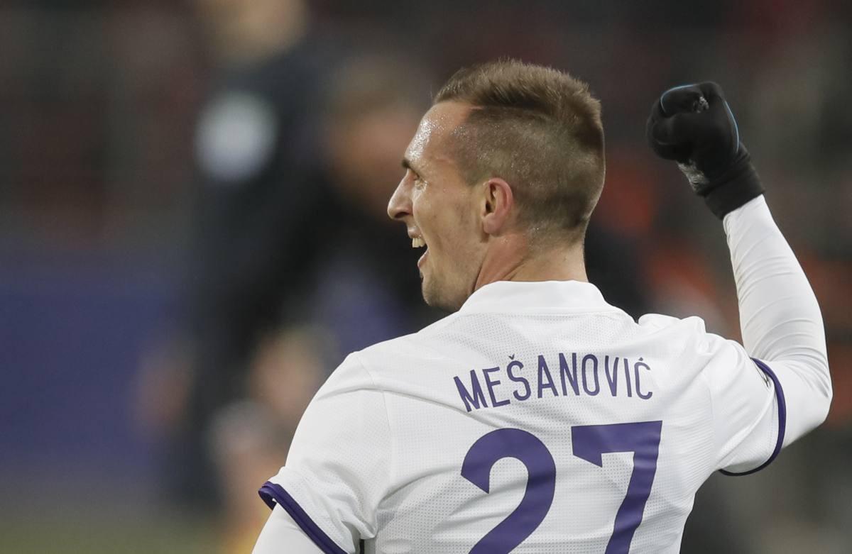 Ubjedljiva pobjeda Maribora, Mešanović strijelac