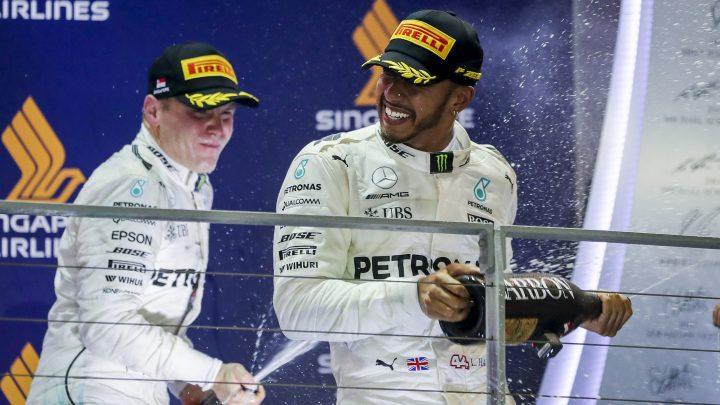 Hamilton: Imali smo sreće na početku trke