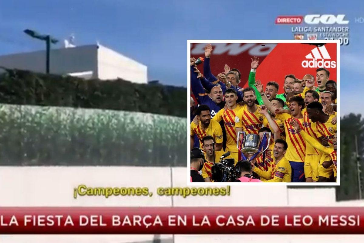 Malo se popilo: Kamere snimile šta su igrači Barcelone pjevali na roštilju kod Messija