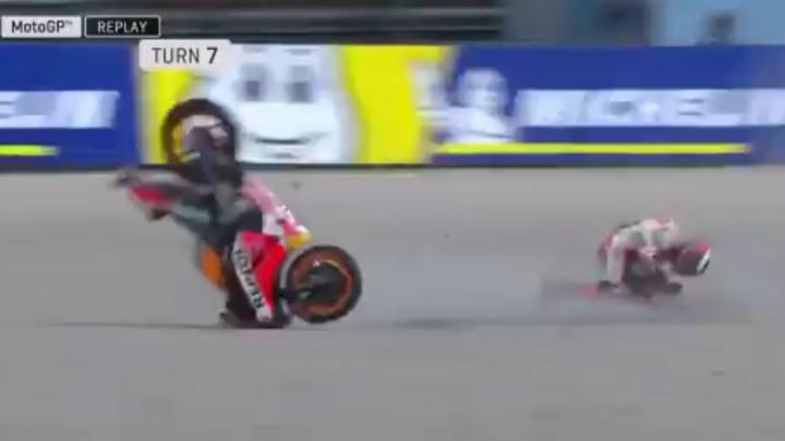 Težak pad i povreda peterostrukog prvaka: Jorge Lorenzo slomio peti pršljen