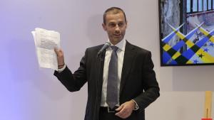 Čeferin: Hrvate je patriotizam odveo do uspjeha, ali to preraste u nacionalizam