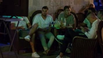 Džeko, Perišić i Kalinić zajedno gledali utakmicu