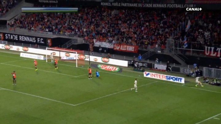 Amaterska greška igrača Rennesa donijela PSG-u vodstvo, ali je Niang brzo izjednačio