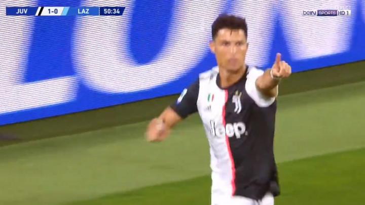 Cristiano Ronaldo za tri minute uništio Lazio