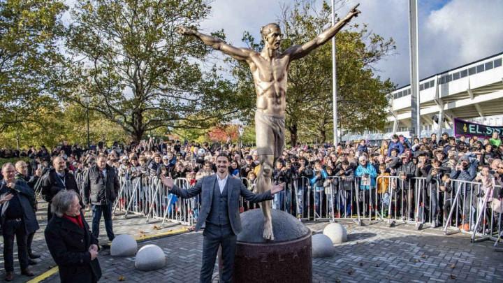 Brojne pogreške na statui Zlatana Ibrahimovića razljutili su cijelu Švedsku