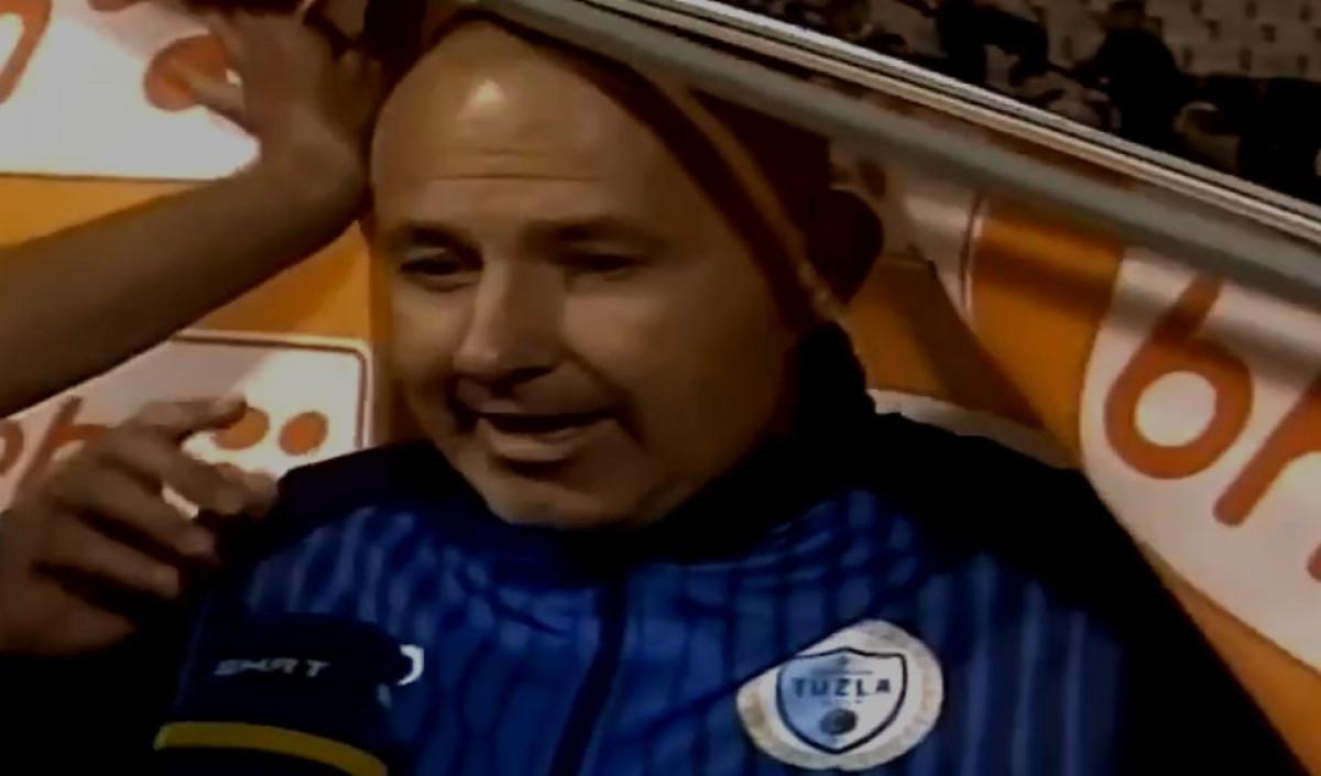 Nesvakidašnja situacija: Baner pao na trenera na Tušnju