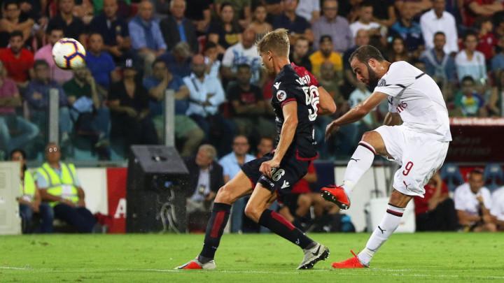 Higuain proradio, Milanu samo bod protiv Cagliarija