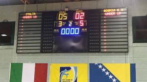 Bh. juniori poraženi u prijateljskom meču od Italije