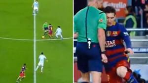 Iskoristio sudiju da prevari protivnika: Dan kada je Messi izveo najinteligentniji potez u fudbalu