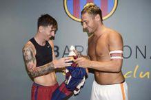 Messi: Uvijek sam se divio Tottiju