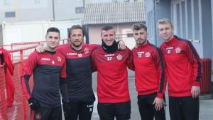 Fudbaleri FK Sloboda trenirali u novoj opremi