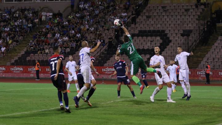 Remi na Tušnju ostavio FK Željezničar na vrhu tabele: FK Tuzla City - HŠK Zrinjski 0:0