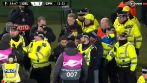 Pobjedu Kopenhagena na Celtic Parku dobro je 'osjetio' i jedan policajac
