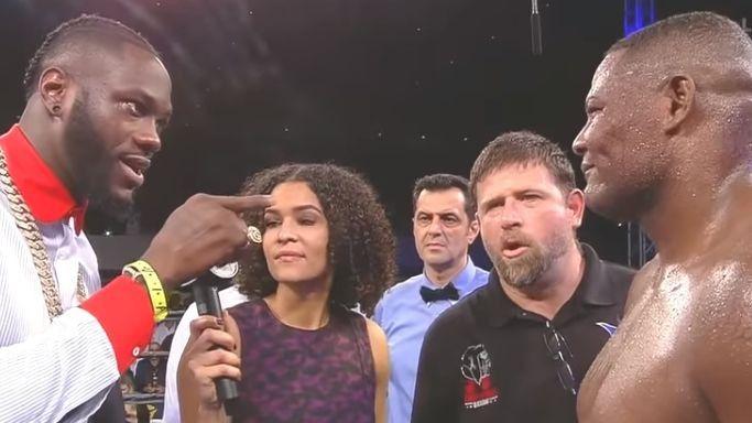 Ortiz brutalno nokautirao rivala i u ringu dogovorio veliki meč