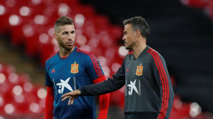 """Sergio Ramos se prvi oglasio nakon ostavke Luisa Enriquea: """"Svaka pobjeda će biti za tebe"""""""