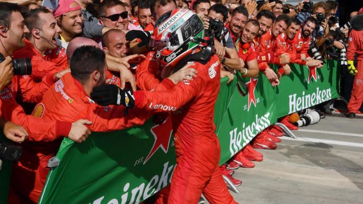 Leclerc: U Monzi sam shvatio šta znači biti dio Ferrarija