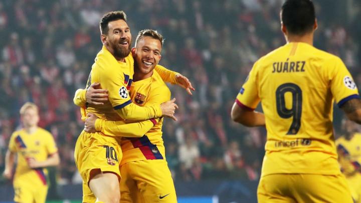 Barcelona teškom mukom pobijedila Slaviju u Pragu, Inter srušio Dortmund na Meazzi